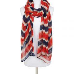 Federica – stripey scarf