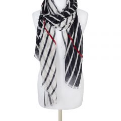 Giana – nautical stripe scarf